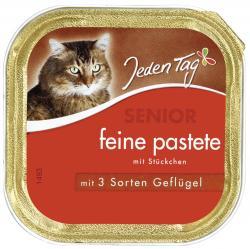 Jeden Tag Senior feine Pastete mit 3 Sorten Gefl�gel  (100 g) - 42263920