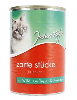 Jeden Tag Zarte St�cke in Sauce Wild, Gefl�gel & Karotten  (415 g) - 4306180182779