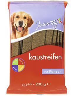Jeden Tag Kaustreifen mit Pansen  (20 St.) - 4306180218966