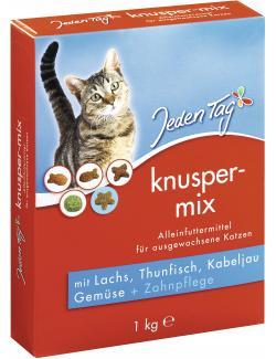 Jeden Tag Knuspermix Fisch & Gemüse  (1 kg) - 4306180182861