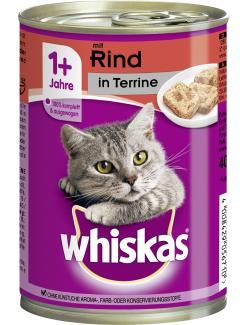Whiskas Terrine mit Rind  (400 g) - 4008429031694
