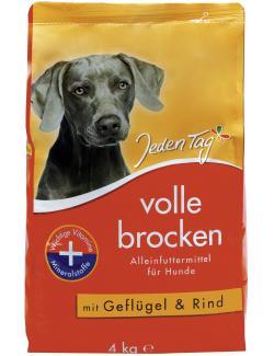 Jeden Tag Volle Brocken mit Gefl�gel & Rind  (4 kg) - 4306180220396