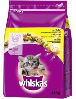 Whiskas Junior mit Huhn  (950 g) - 5900951139024