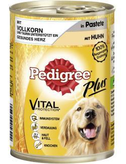 Pedigree Plus Pastete mit Huhn & Vollkorn  (400 g) - 4008429056222