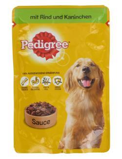 Pedigree mit Rind & Kaninchen in Sauce  (100 g) - 5900951142031