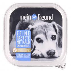 Mein Freund Hund Feine Pastete Kalb und Geflügel  (150 g) - 4306188303251