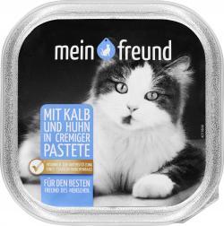 Mein Freund Katze Kalb in feiner Leberpastete  (100 g) - 42271284
