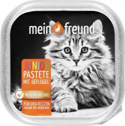Mein Freund Katze Junior Pastete mit Gefl�gel  (100 g) - 42271321