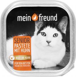 Mein Freund Katze Senior Pastete mit Huhn  (100 g) - 42271307