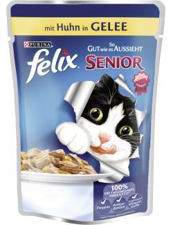 Felix Senior So gut wie es aussieht mit Huhn in Gelee  (100 g) - 7613031610082