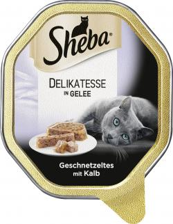Sheba Genuss in Gelee Geschnetzeltes mit Kalb  (85 g) - 4008429070099