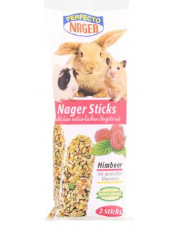 Perfecto Nager Sticks Himbeer  (2 x 56 g) - 4036897204470