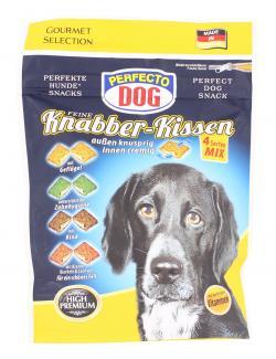 Perfecto Dog Feine Knabber-Kissen 4 Sorten Mix  (100 g) - 4036897213670