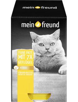 Mein Freund Feine Pat� mit Gefl�gel  (7 x 90 g) - 4306188353577