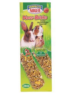 Perfecto Nager Nuss-Bricks  (2 x 56 g) - 4036897218040