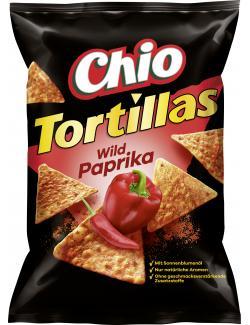 Chio Tortillas Wild Paprika  (125 g) - 4001242002209