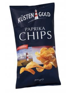 Küstengold Paprika Chips  (200 g) - 4014740607111