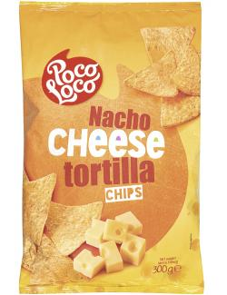Poco Loco Nacho Cheese Tortilla Chips  (300 g) - 5412514930516