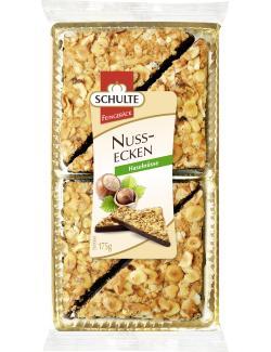 Schulte Nussecken zartbitter  (175 g) - 4008728007055