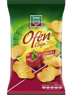 Funny-frisch Ofen Chips Paprika  (150 g) - 4003586001863