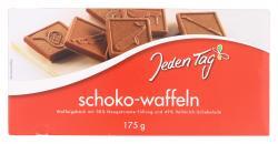 Jeden Tag Schoko-Waffeln Vollmilch  (175 g) - 4001450137458