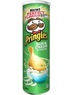 Pringles Sour Cream & Onion  (190 g) - 5053990101870
