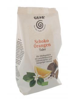 Gepa Bio Schoko Orangen Taler  (125 g) - 4013320059500