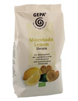 Gepa Bio Mascobado Lemon Herzen  (125 g) - 4013320134917