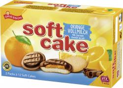 Griesson Soft Cake Vollmilchschokolade Orange  (300 g) - 4001518103487