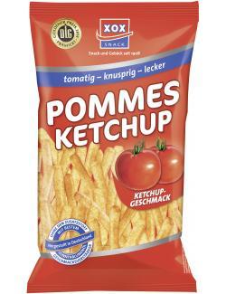 Xox Pommes Ketchup-Geschmack  (125 g) - 4031446810218