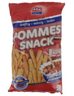 Xox Pommes Snack Currywurst  (125 g) - 4031446811567