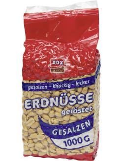Xox Erdnüsse gesalzen  (1 kg) - 4031446850030