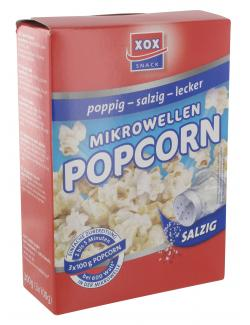 Xox Mikrowellen Popcorn salzig  (300 g) - 4031446877112