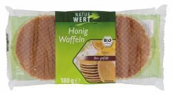 NaturWert Bio Honigwaffeln  (180 g) - 4250780302290