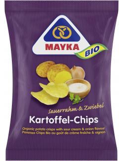 Mayka Bio Kartoffelchips Sauerrahm & Zwiebel  (70 g) - 4006748002753