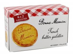 Bonne Maman French butter galettes  (170 g) - 3045320057294