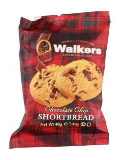 Walkers Chocolate Chip Shortbread  (40 g) - 39047005327