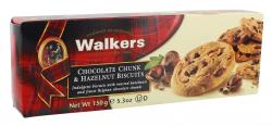 Walkers Chocolate Chunk & Hazelnut Biscuits  (150 g) - 39047005440