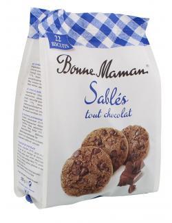 Bonne Maman Sabl�s tout chocolat  (250 g) - 3178530402681