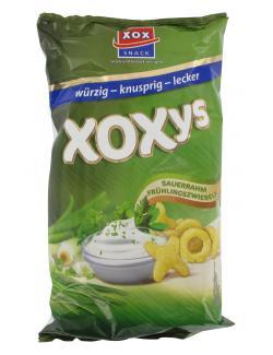 Xox Xoxys Sauerrahm-Frühlingszwiebeln  (125 g) - 4031446887975