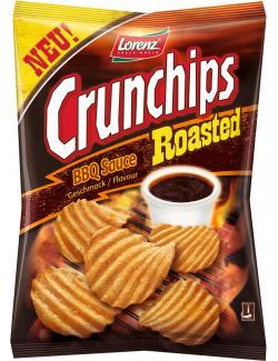 Lorenz Crunchips Roasted BBQ Sauce  (150 g) - 4018077772733