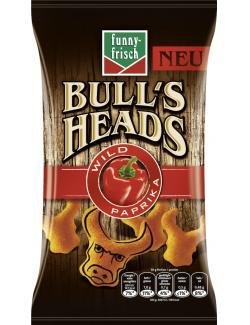 Funny-frisch Bull�s Heads Wild Paprika - MHD 28.11.2016  (75 g) - 4003586005533