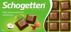 Schogetten Alpenvollmilch-Haselnuss  (100 g) - 4000607151101