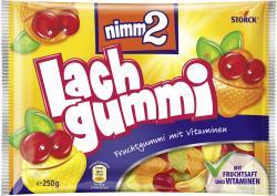 Nimm2 Lachgummi Fruchtgummi mit Vitaminen  (250 g) - 4014400901818