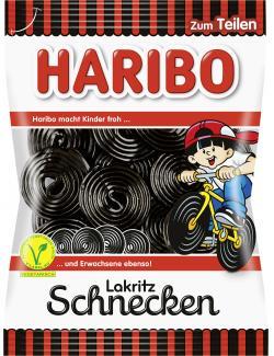 Haribo Lakritzschnecken  (200 g) - 4001686101148