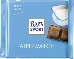 Ritter Sport Bunte Vielfalt Alpenmilch  (100 g) - 4000417018007