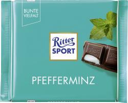 Ritter Sport Bunte Vielfalt Pfefferminz  (100 g) - 4000417028006
