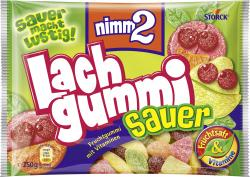 Nimm2 Lachgummi sauer  (250 g) - 4014400907629