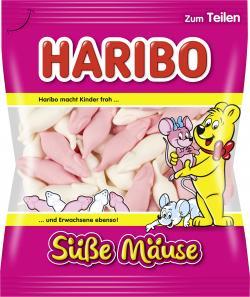Haribo Süße Mäuse  (200 g) - 4001686407530