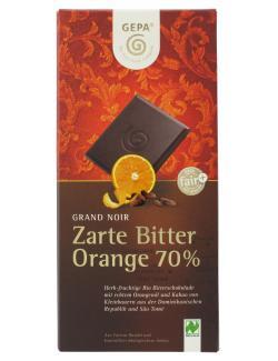 Gepa Bio Grand Noir Orange  (100 g) - 4013320066355